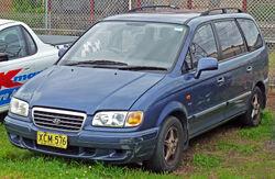 2000–2004 Hyundai Trajet (FO) GLS (Australia)