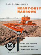 AC Disc Harrow brochure - 1953