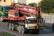 A 1980s Smith OF Rodley T30 Foden Cranetruck Diesel