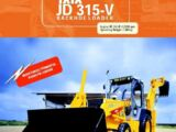 TATA - JD 315-V backhoe