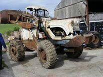1960s BRAY BL440 4X4 Loader Diesel