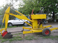 A 1970s Smalley 425 Digger