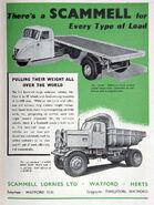 A 1950s Scammell Lorries Original Catalogue