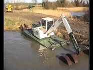 A 2000s Smalley 430 Amphibian Dredger Diesel