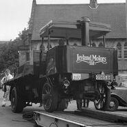 A 1920s LEYLAND Roadwagon Steampowered