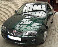 Rover 25 british green