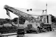 A 1970s Smith Of Rodley LT30 Foden Cranetruck Diesel