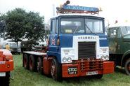 A 1980s Scammell Samson 8X4 Haulage Tractor Diesel