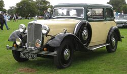 Morris Fifteen-Six 2006cc April 1935.JPG