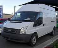 2007 - 09 Ford Transit 350 LWB Jumbo Van