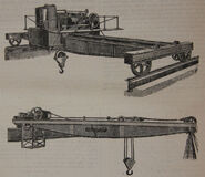 A 1890s Smith Of Rodley Steam Overhead 15 T Crane
