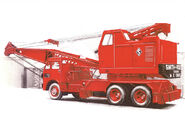 A 1960s Smith Of Rodley T20 Cranetruck on Foden carrier