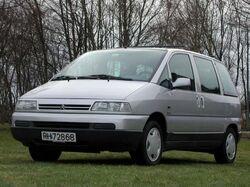 1998 Citroën Evasion (pre-facelift)
