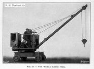 1930s Neal 1 Ton Mobilecrane