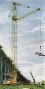 1980s Coles Mobile Towercrane