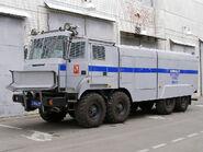 Moscow OMON Lavina-Uragan riot control vehicle
