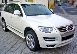 Facelifted first-generation Volkswagen Touareg North Sails (Europe)