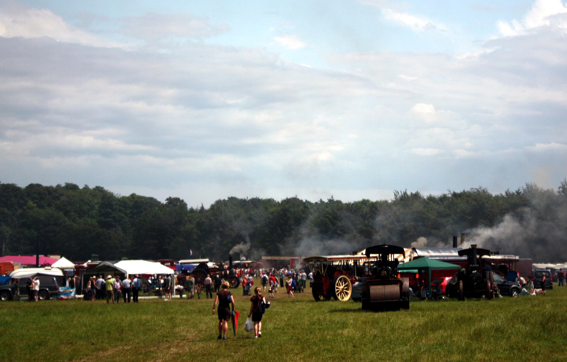 Duncombe Park Steam Rally