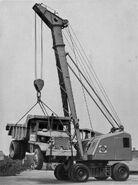 A 1950s NEAL Mobilecrane 15T