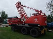 ALLEN T6 Cranetruck 4X2 another one preserved and restored