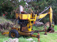 A 1960s Smalley Lister engined minidigger