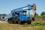 A 1990s ALLEN-GROVE Cranetruck HS Series