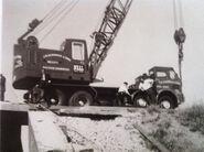 A 1970s NEAL RM Foden Cranetruck Diesel