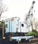 A 1970s Smith Of Rodley Railway Crane Diesel 20T