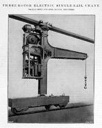 A 1910 Smith Of Rodley 3 Motor Electric Railcrane