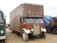 A 1930s LEYLAND Llama Boxvan Diesel