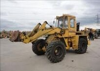 A 1980s BRAY PS5000C 4WD Loader