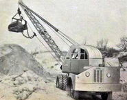 A 1950s ALLEN K64 Superduty Shovel Diesel 4X2