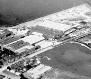 RH NEAL Ltd crane factory at Grantham Lincoln