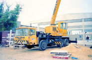 A 1980s Smith Of Rodley on AWD Vickers cranetruck