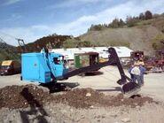 A 1970s Smith Of Rodley Super 10 Excavator Diesel