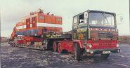 A 1970s LEYLAND Marathon Haulage Tracto Diesel 6X4