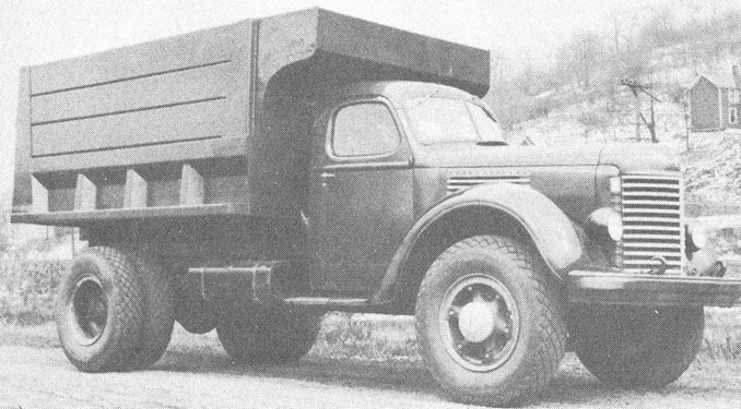 International KBR-14 Truck