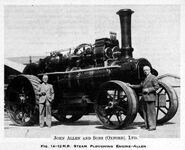 A 1950s Allen Of Oxford Steamplough Engine
