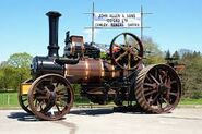 A 1920s Allen of Oxford Steam Tractor preserved