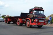 A 1960s LEYLAND Badger Diesel Haulage Tractor preserved