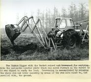 A 1970s Whitlock Brothers Fordson Dinkum Digger