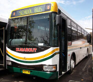 Bustech 'Graduate' bodied Mercedes-Benz OH1830L - 4009 MO (Busabout Wagga)