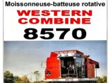 Massey Ferguson 8570 combine