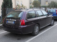 Rover 75 Tourer post-facelift - rear