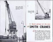 A 1970s Smith Of Rodley Crane Catalogue