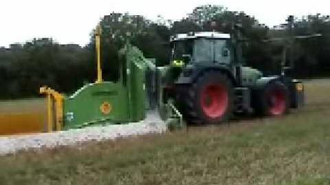 Tractor Mounted, P.T.O. Driven Rock Wheel Trenchers