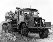 A 1950s Scammell Mountaineer 6X6 Wrecker
