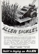 A 1960s Allen Of Oxford Motorsickles