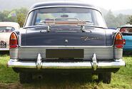 Ford Zodiac 206E 1959 tail