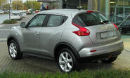 Nissan Juke Acenta 1.6 2x4 rear 20101030